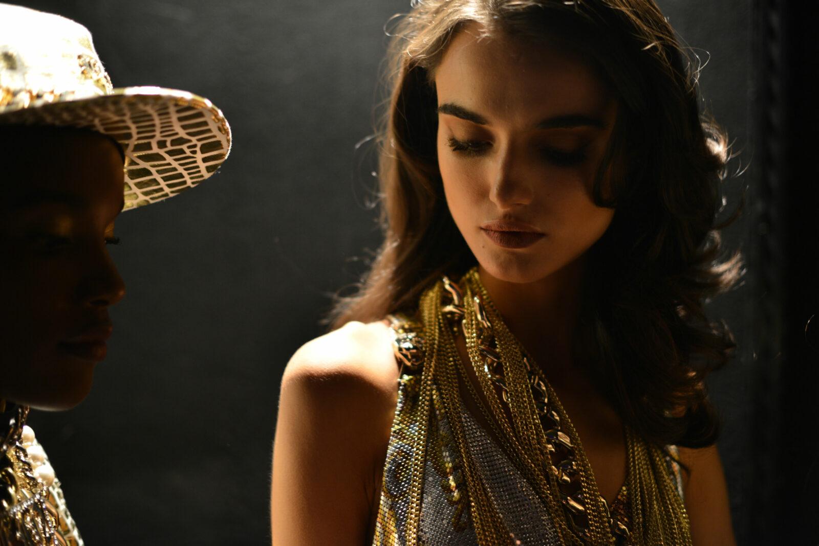 Philipp Plein SS17 Milan Fashion week backstage Blanca Padilla